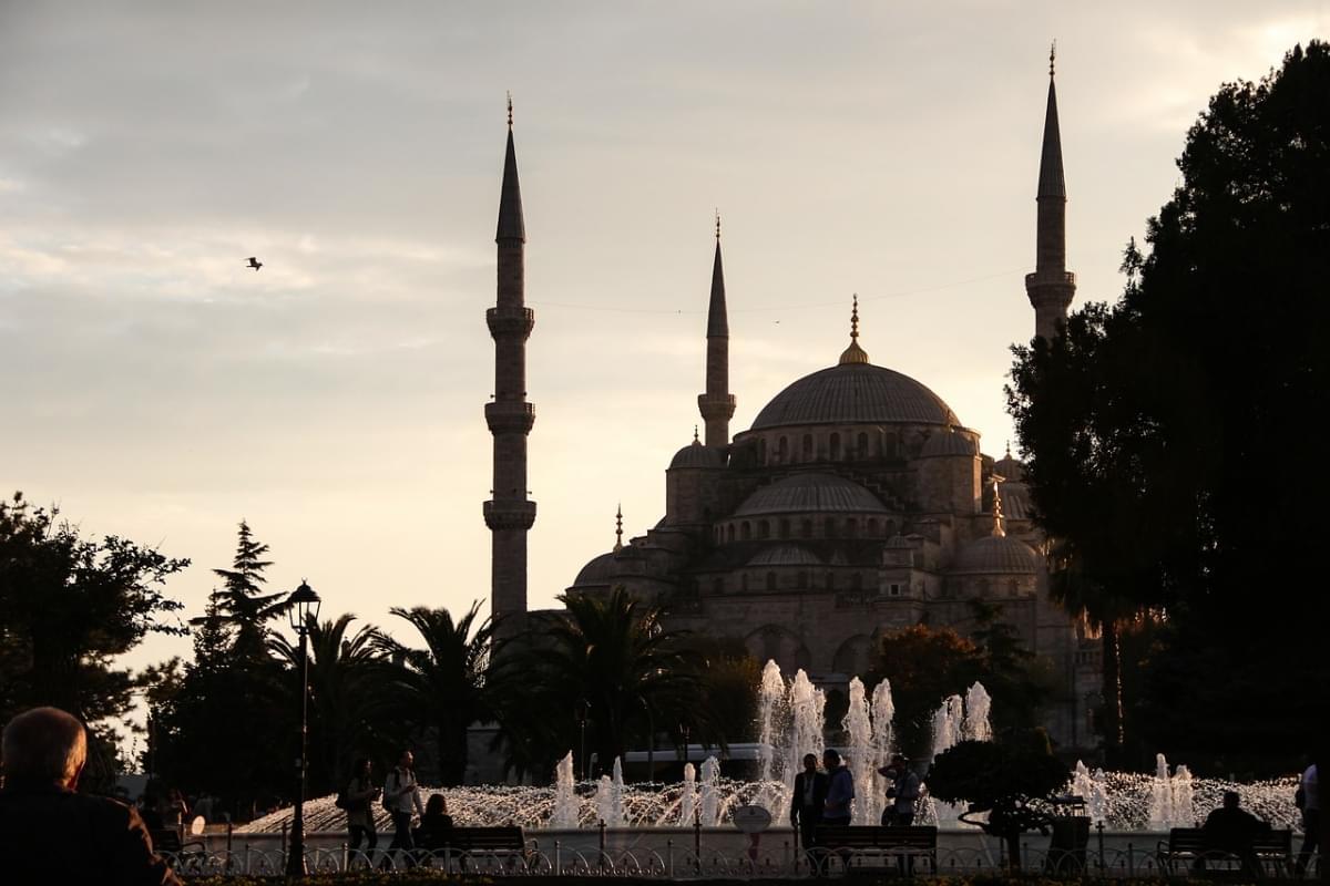 sultanahmet camii fontane