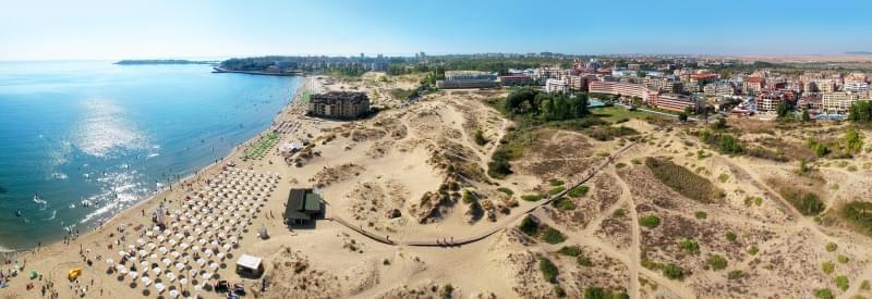 Panoramica di Sunny Beach