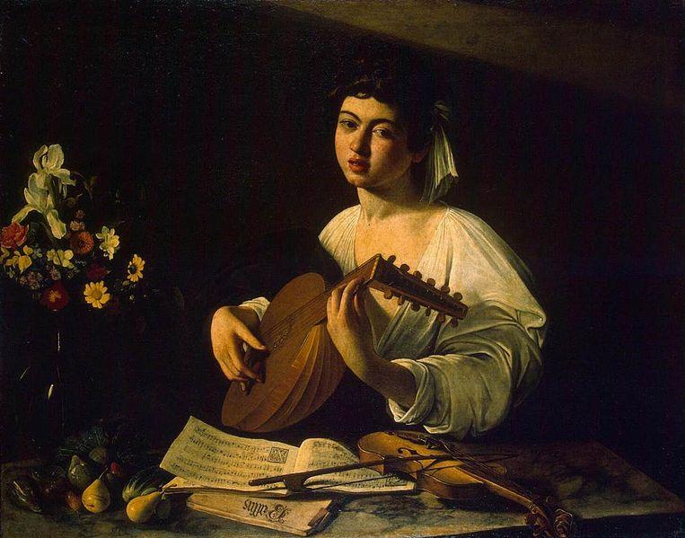 Il Suonatore di Liuto, Caravaggio