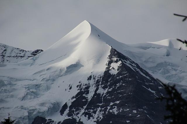 svizzera wengen montagna neve