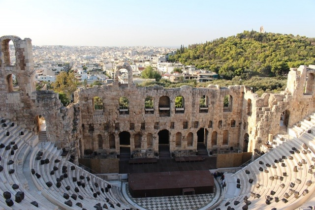 teatro acropoli atene
