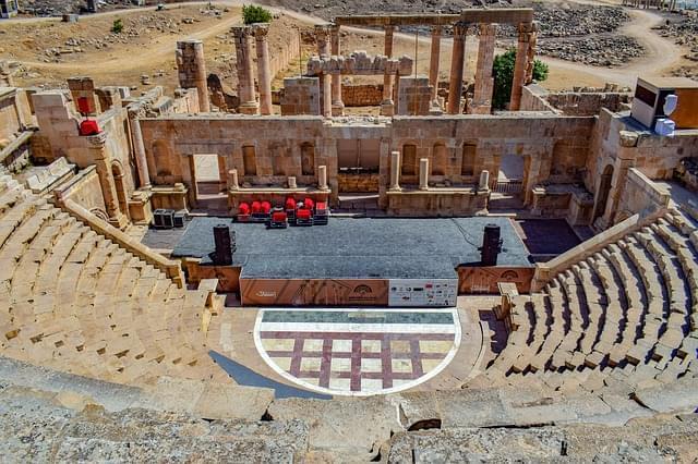 teatro antico architettura rovine