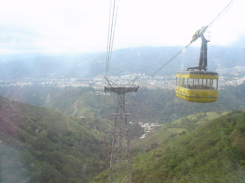 Teleférico de Mérida, Venezuela