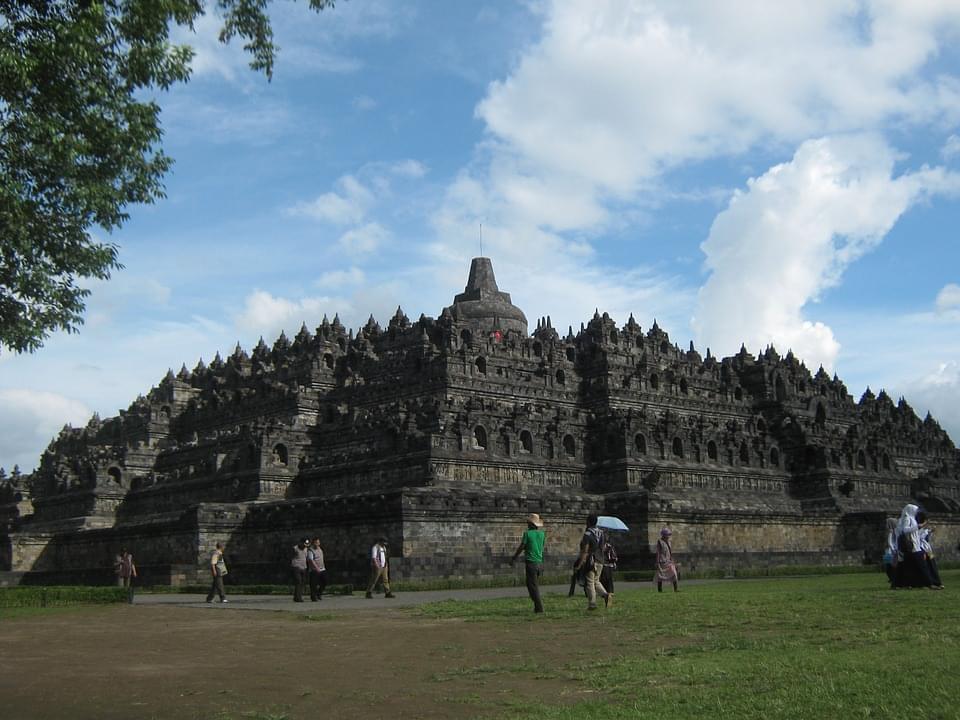 tempio borobudur indonesia
