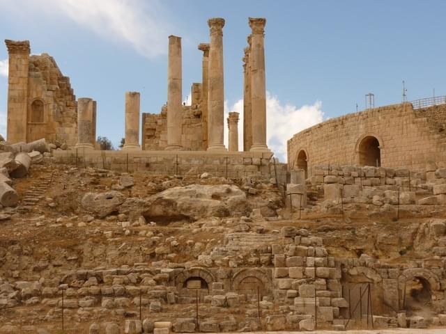 tempio di artemide gerasa jerash
