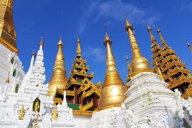 tempio pagoda di pagoda shwedagon