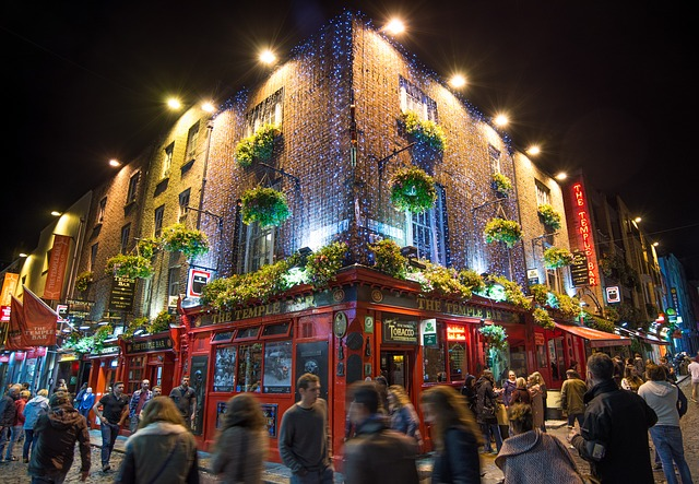 temple bar pub bar birra cafe