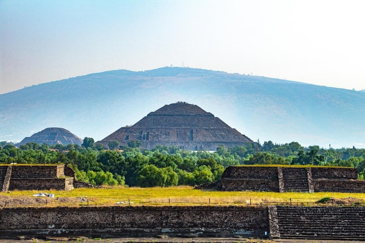 teotihuacan in messico