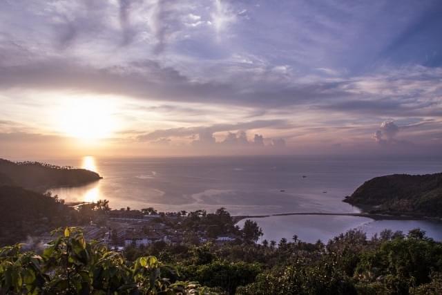 thailandia koh phangan isola
