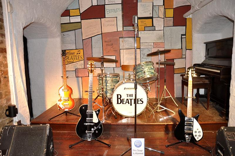 the cavern replica of the beatles story museum