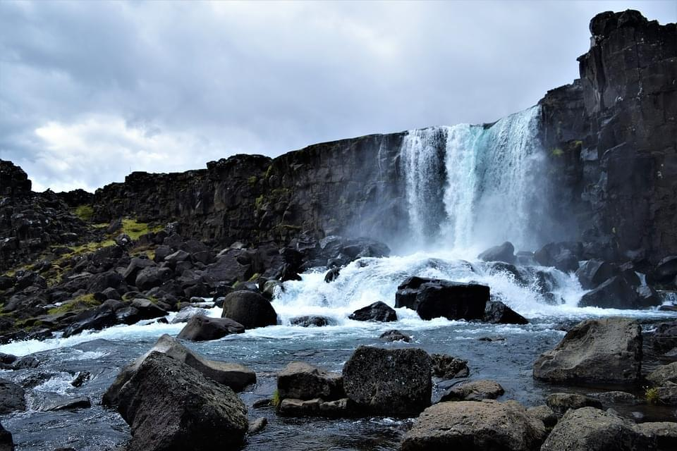 thingvellir national park cascate
