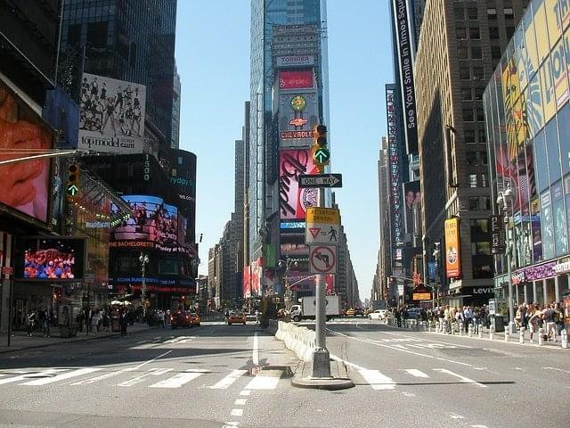 times square stati uniti new york