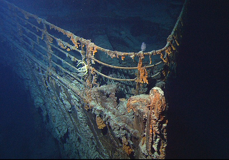 12 relitto titanic