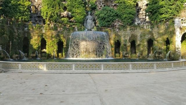 fontana villa d este tivoli