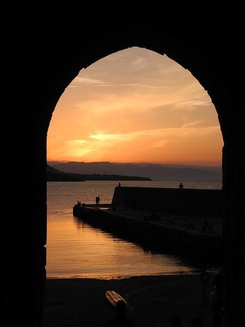 tramonto a castellammare