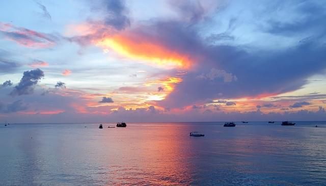 tramonto a koh tao