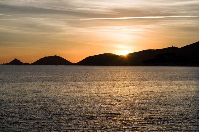 tramonto ajaccio