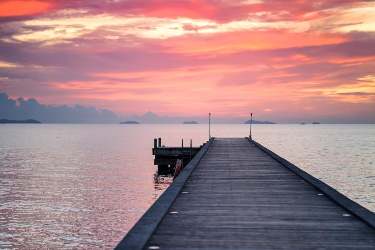 tramonto koh samui
