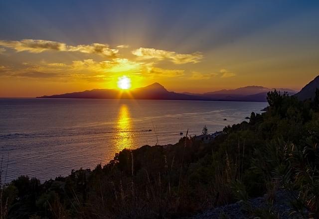 tramonto su maratea