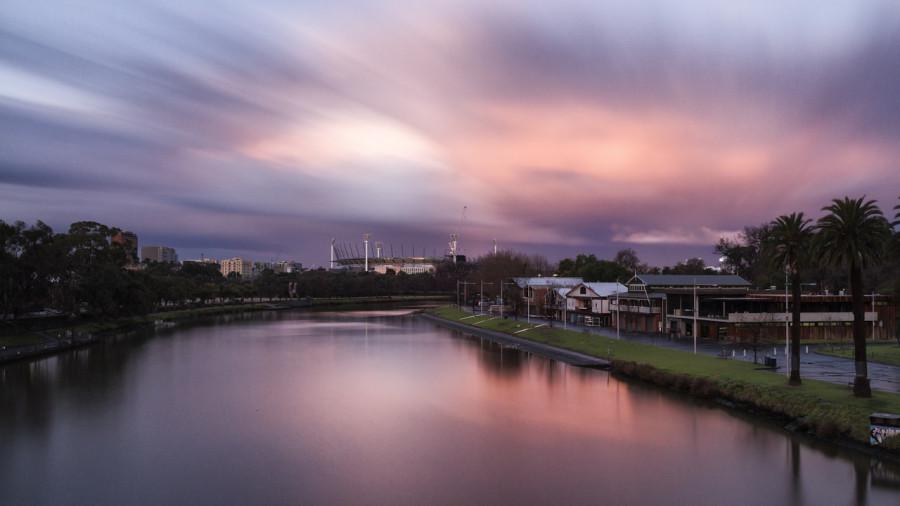 Skyline di Melbourne