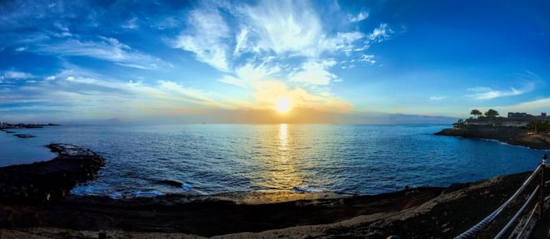 tramonto tenerife canarie