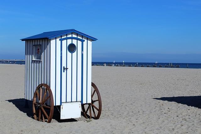 travemunde spiaggia germania