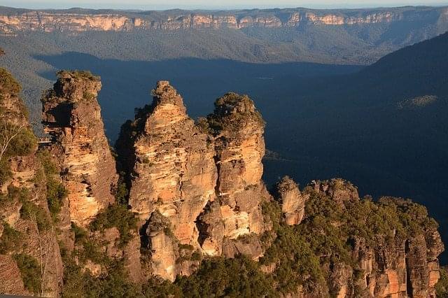 tre sorelle montagne blu paesaggio