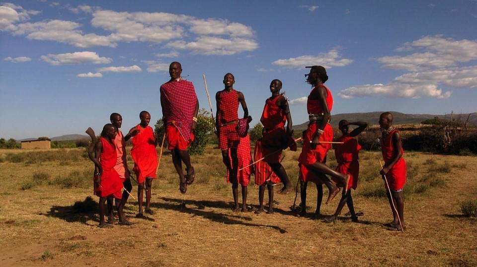 tribu maasai kenya