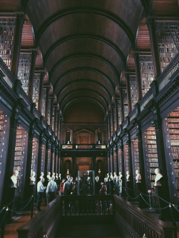 trinity college library 1