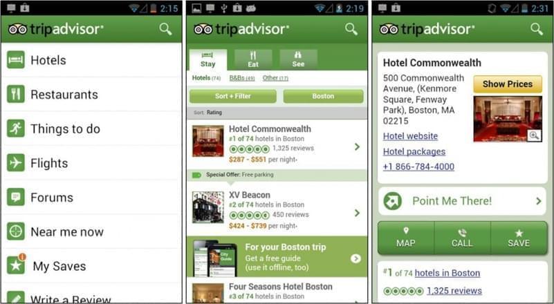 tripadvisor app mobile