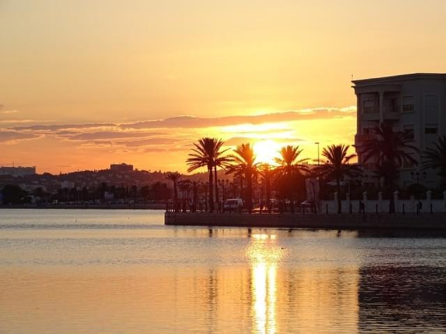 tunisia lago di tunisi