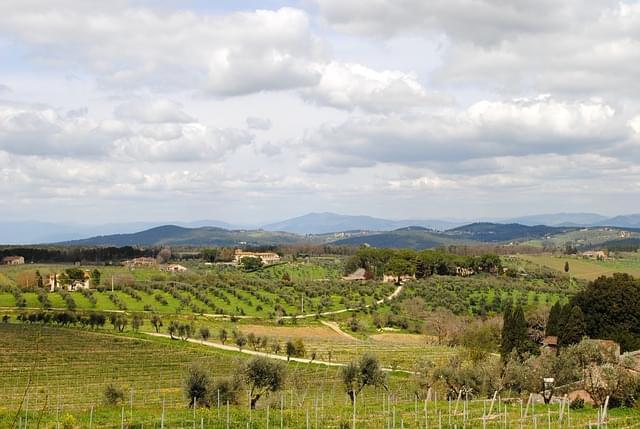 tuscany chianti italia paesaggio 1