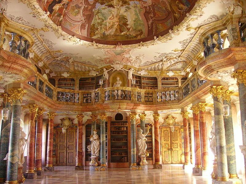 Biblioteca abbaziale Wiblinglen di Ulm, Germania