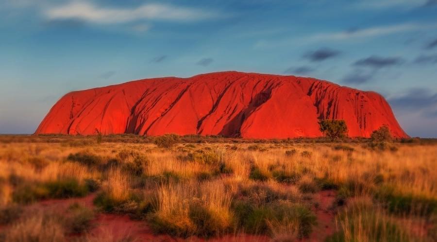 Nono posto monte uluru australia
