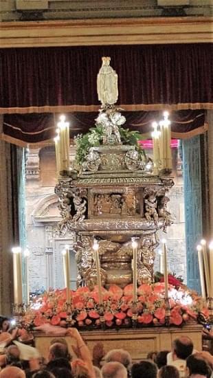 urna santa rosalia