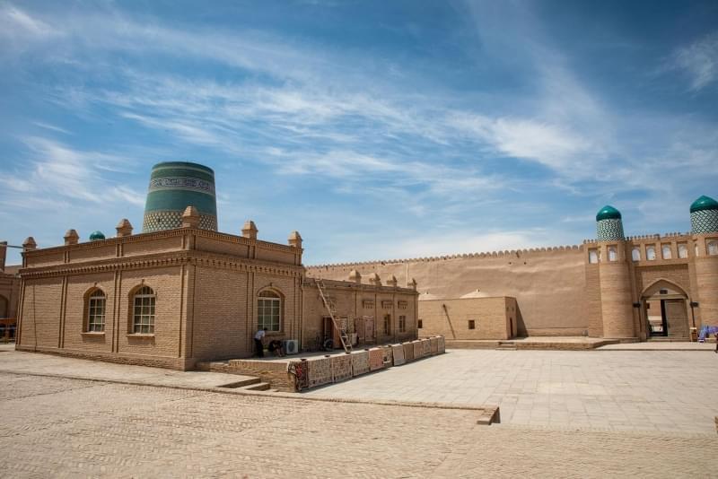 uzbekistan khiva palazzo reale fortezza kunya ark 1