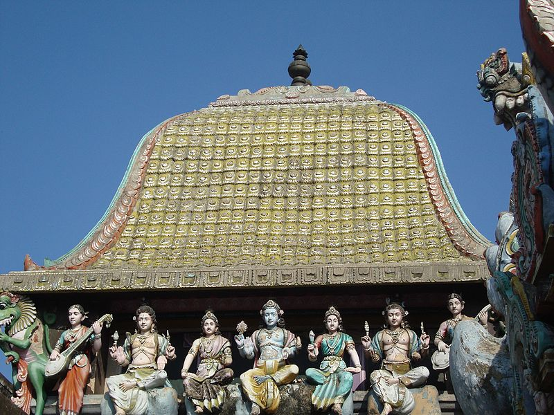 tempio di Vaithiswarankoil in India