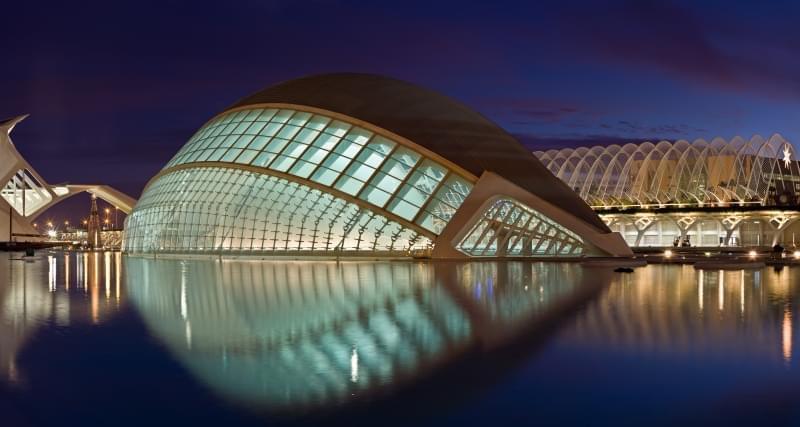 Citta delle arti e della scienza a Valencia