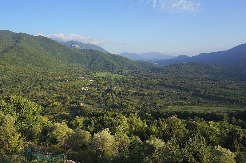 valle dell'Aniene