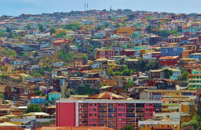 valparaiso villaggio citta cile