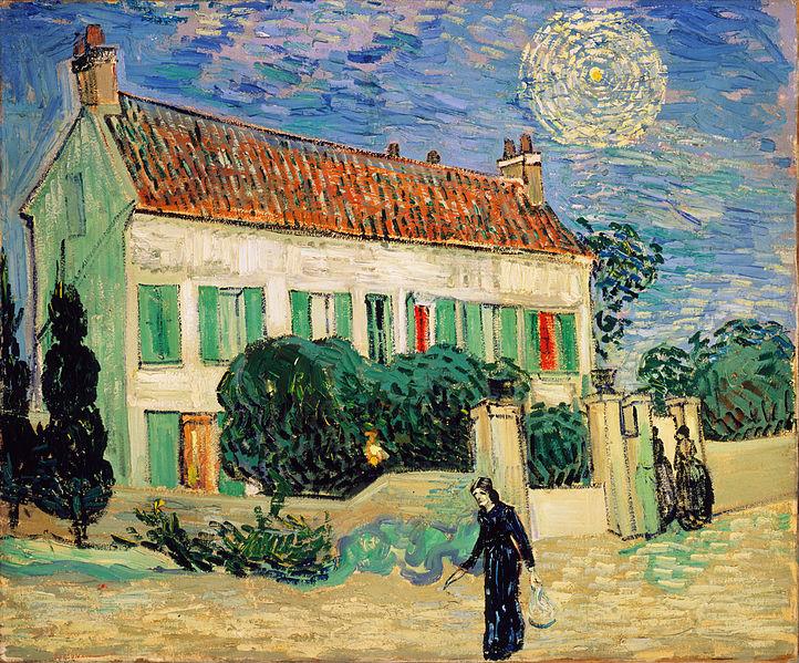 Casa Bianca di Notte, Van Gogh