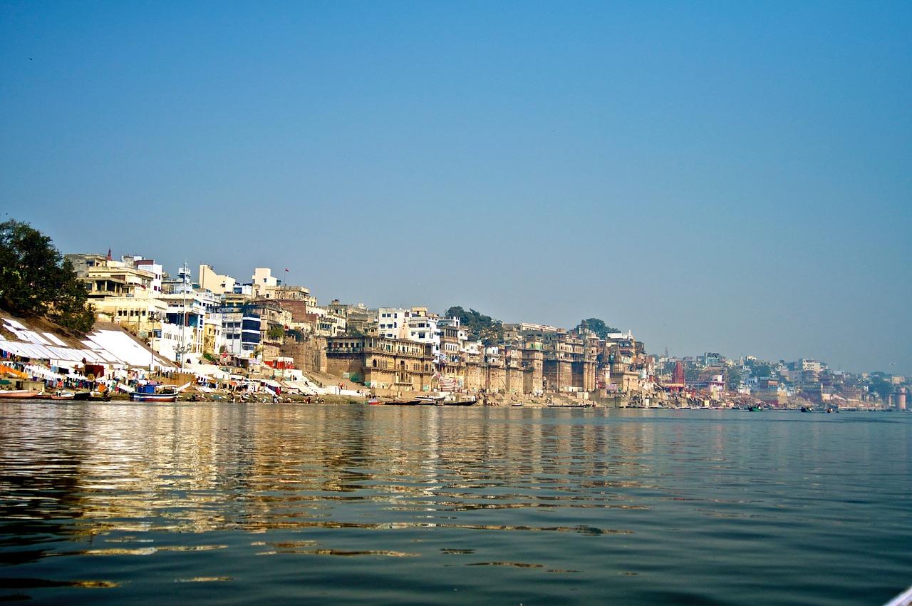 Varanasi Fiume Gange