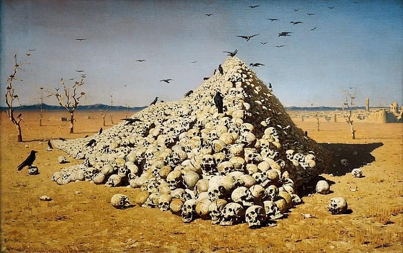 vasily vereshchagin apoteosi della guerra