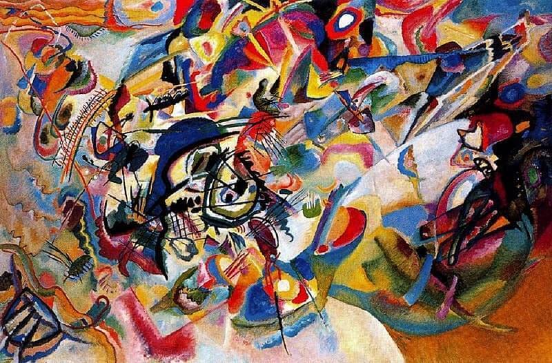 vassily kandinsky composition 7