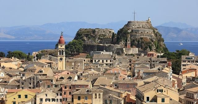vecchia fortezza corfu town