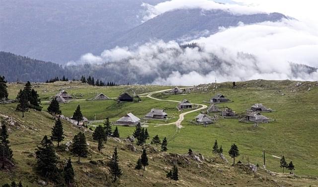 velika planina altopiano