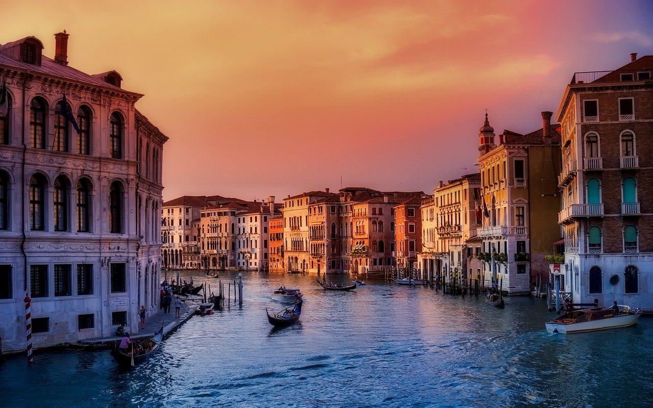 Venezia città più romantica d'Europa