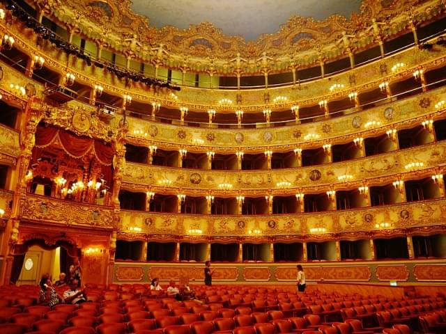 venezia teatro la fenice innen zuschauersaal 12