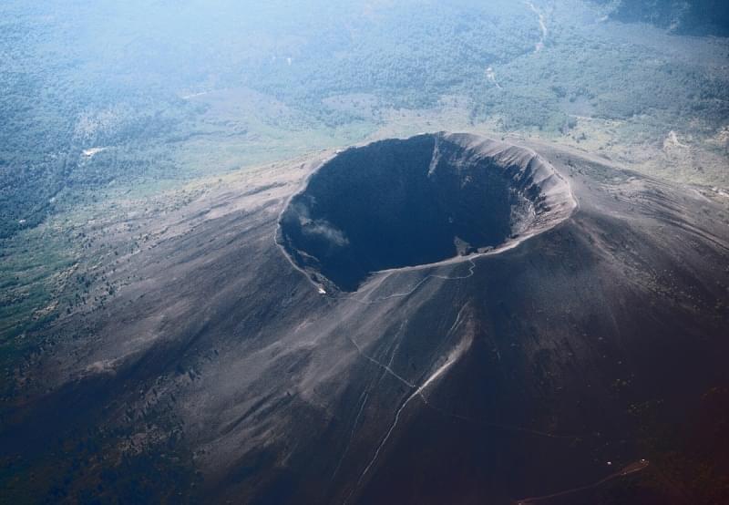 Cratere principale del Vesuvio