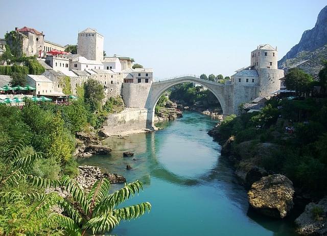 ponte stari most a Mostar, erzegovina